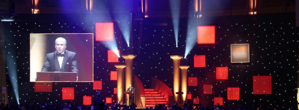 award ceremony production