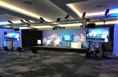 hybrid and virtual event production