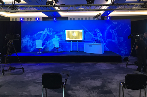 technical event production company UK and London