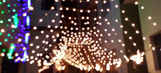 Christmas event lighting company UK