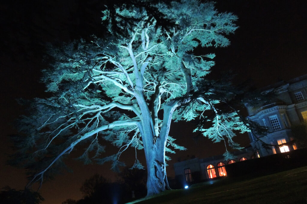 Garden lighting for events and venues